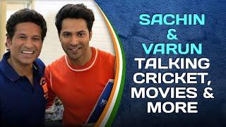 Sachin Tendulkar and Varun Dhawan discuss Cricket, Movies & much more!   #SportPlayingNation