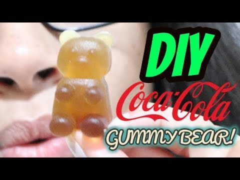DIY Coca Cola Gummy Bears with a Gummy Candy Maker