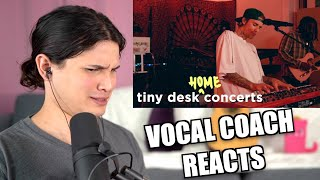 Vocal Coach Reacts to Justin Bieber: Tiny Desk - How His Voice Changed