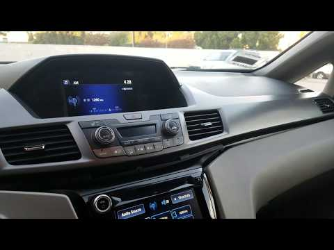 How to Remove Upper Display from Honda Odyssey  2014 for Repair.