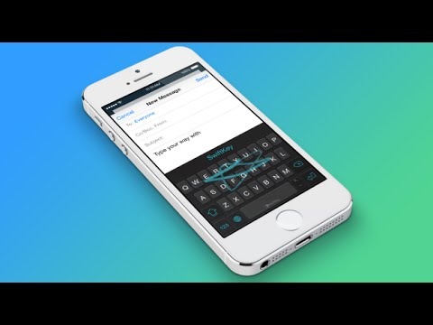How Use Swiftkey Keyboard on iOS 8/ iPhone 6