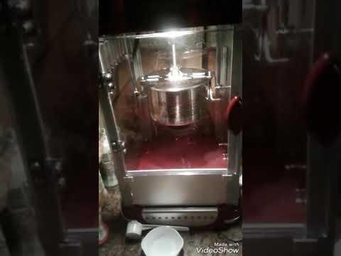 Popcorn flix popcorn machine cleaning  popflix