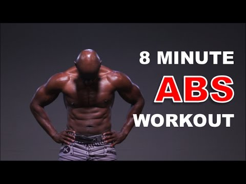 8 Minute Abs Workout – Build Ripped Abs and Strong Core