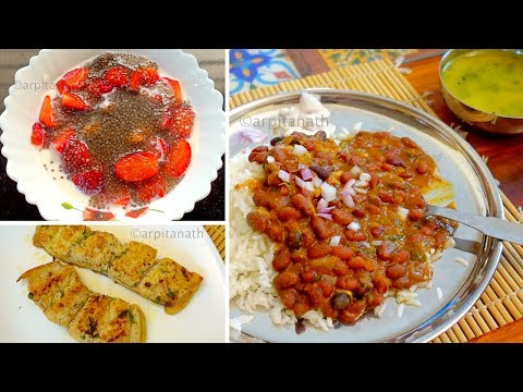 Faster Weight Loss Full Day Healthy Indian Meal Plan || Lose 10 Kgs in 1 Month