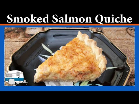 How to make Smoked Salmon Quiche