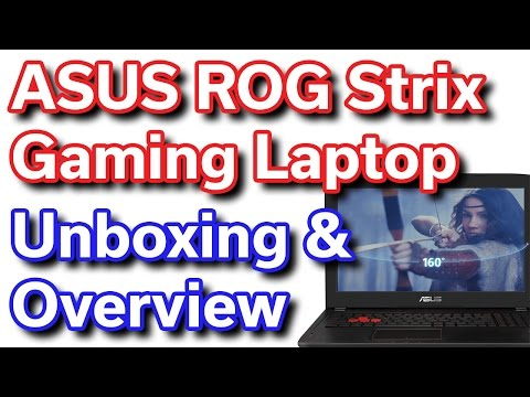 ASUS ROG Strix - i7-6700HQ - GTX 1070 - Unboxing & Overview