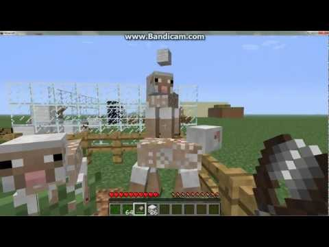 How to Get sheep To Regain Wool Minecraft 1.1