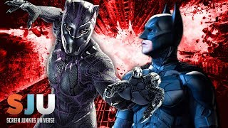 Black Panther Smashes The Dark Knight