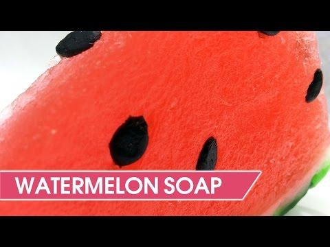 DIY: Watermelon Soap - Fruits Melt & Pour Soap