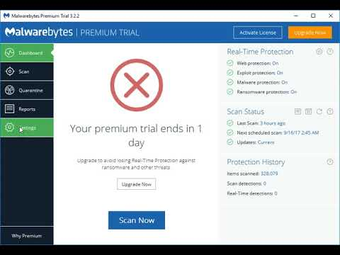 How to deactivate Malwarebytes Premium trial
