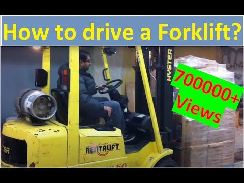 How to operate / drive a forklift (Forklift Training Lesson) [HD]