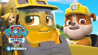 Rubble and Brock Fix the Bridge PAW Patrol and Mighty Express Mashup Episode #2 PAW Patrol & Friends