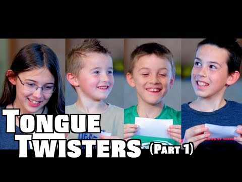 Sibling Rivalry | Tongue Twisters Part 1