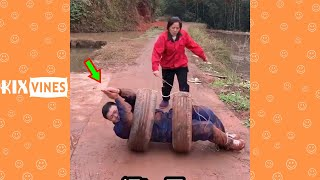 Funny videos 2021 ✦ Funny pranks try not to laugh challenge P172