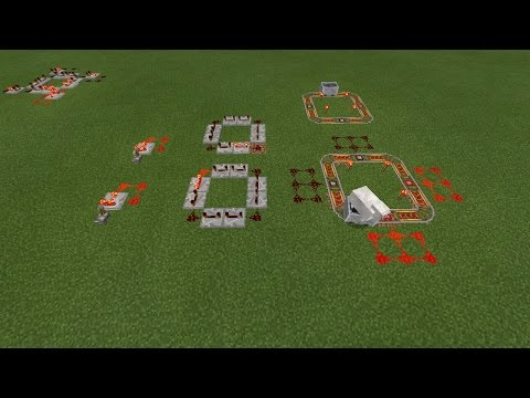How to make a redstone clock in mcpe !