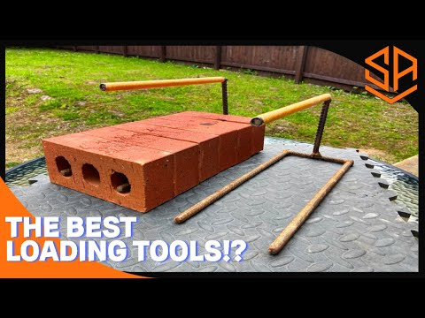 Bricklaying with Steve and Alex BRICK TONGS ....... THE EASY WAY TO LOAD OUT !