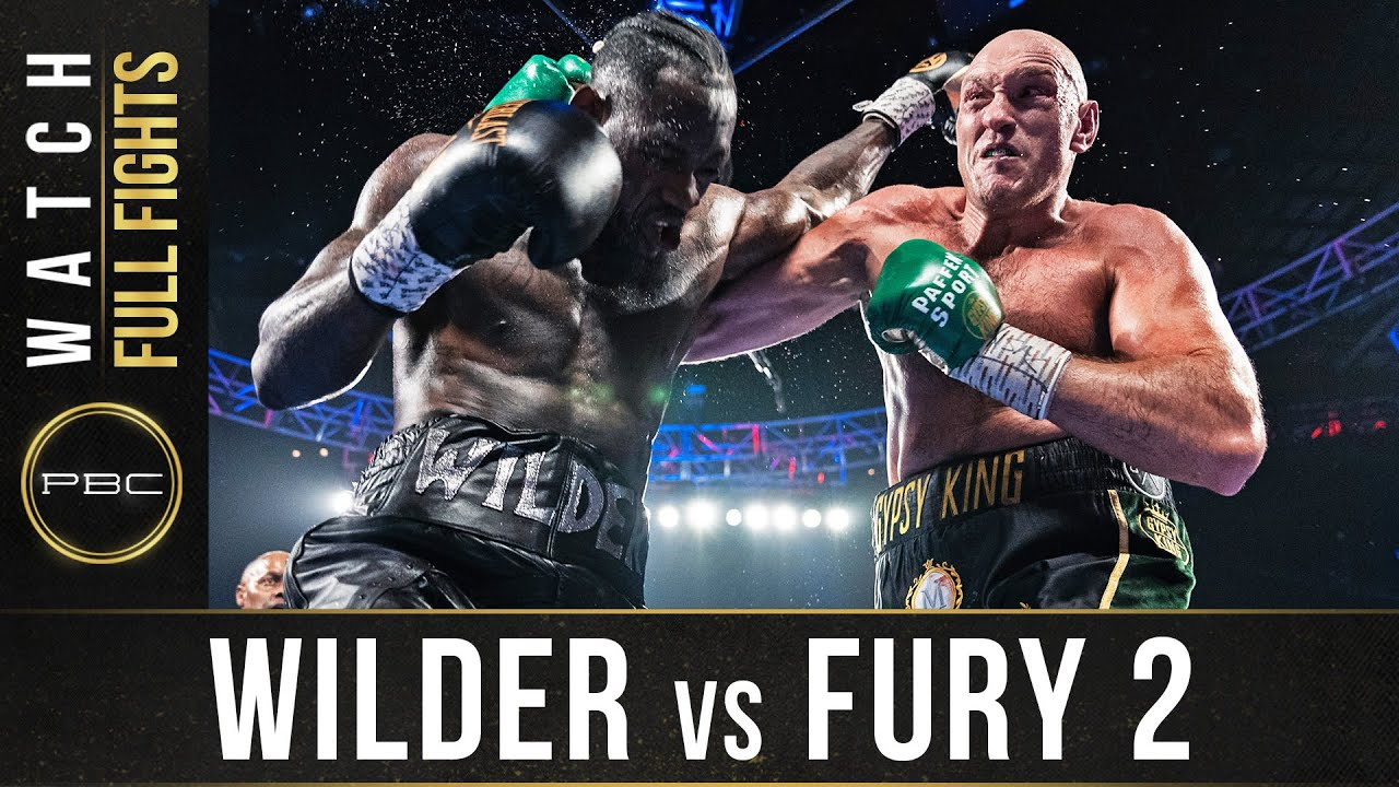 Wilder vs Fury 2 FULL FIGHT: February 22, 2020