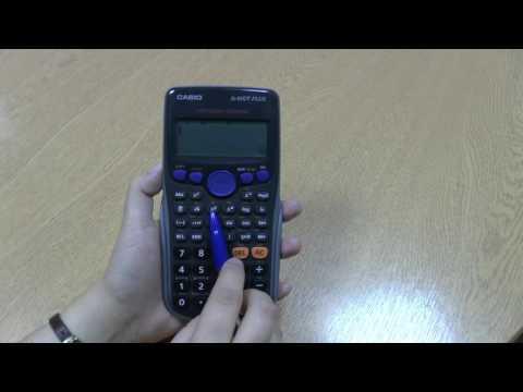 Calculator Tutorial 6: Square numbers on a scientific calculator