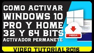 activador windows 10 pro 64 bits mega