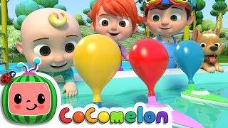 Balloon Boat Race | Cocomelon (ABCkidTV) Nursery Rhymes & Kids Songs