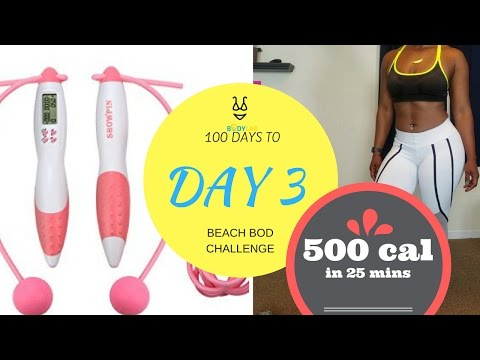 Burn 500 Calories in 25 Minutes | DAY 3  | 100 Days to Beach Bod Challenge