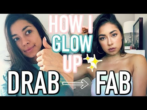 HOW I GLOW UP! Everyday Makeup Routine & Hair Tutorial!