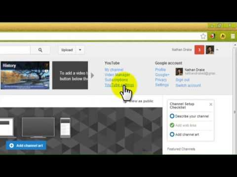 How to create a username on YouTube