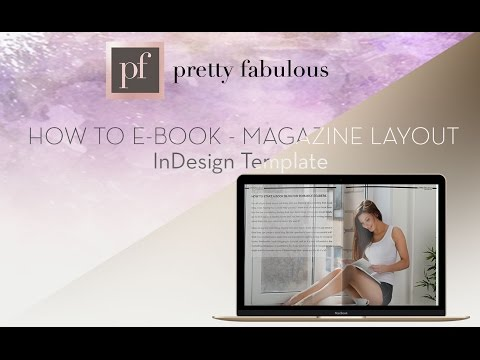 What's Inside: How To e-Book| InDesign Template | Magazine Style Layout