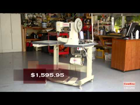 Cowboy CB3200 Leather Sewing Machine--Saddle and Harness Stitcher
