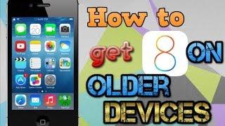 How To Get Ios 8 On Ipod 4g3g2g Iphone 43gs3g2g And Ipad 1 Older Devi