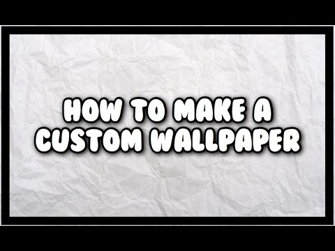 How to make an awesome wallpaper on iPhone!