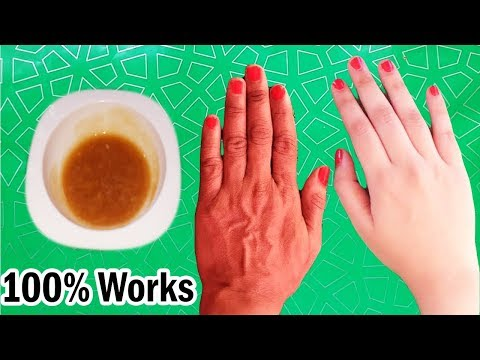 100 % Natural Anti Aging Mask For Hands to Remove Wrinkles | Get Baby Soft Hands Permanently