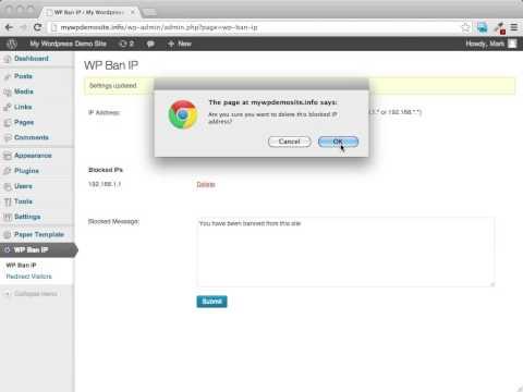 wp ban ip demo