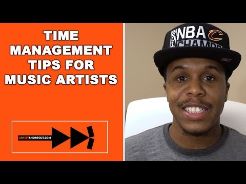 Time Management Tips For Music Artists