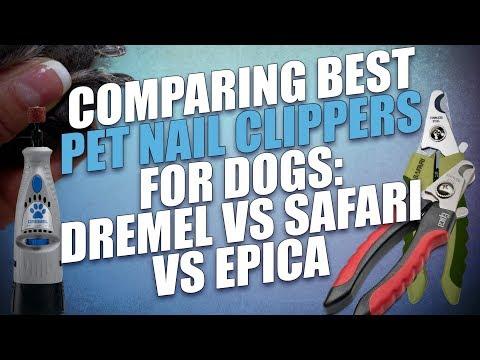 Demonstration Furminator Nail Trimmer And Nail Grinder For