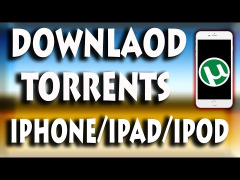 How to download torrent or movies in iphone ipad ipod ( without jailbreak -2017 all ios  )