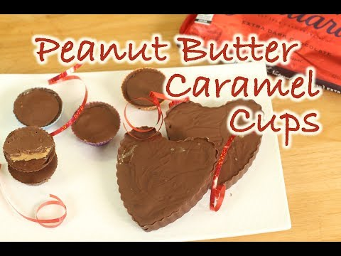 Peanut Butter Cups With Caramel | Rockin Robin Cooks