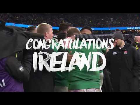 Irish Rugby Grand Slam Champions 2018 | Vodafone Ireland