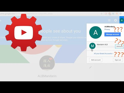 Channel Icon of Default Google Account and Brand Account | How to change channel icon PART 2/3