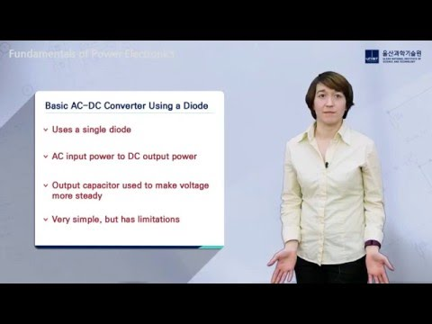 Fundamentals of Power Electronics - Basic AC-DC Converter Using A Diode