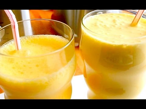 Orange Shake BATTLE! Healthy vs Heavenly