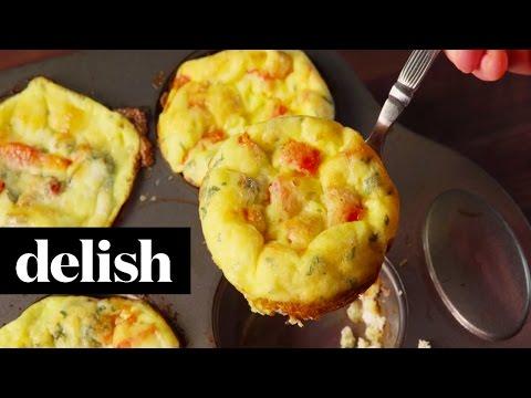 Muffin Tin Frittatas | Delish