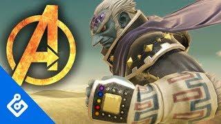 Simulating Avengers: Endgame In Super Smash Bros. Ultimate