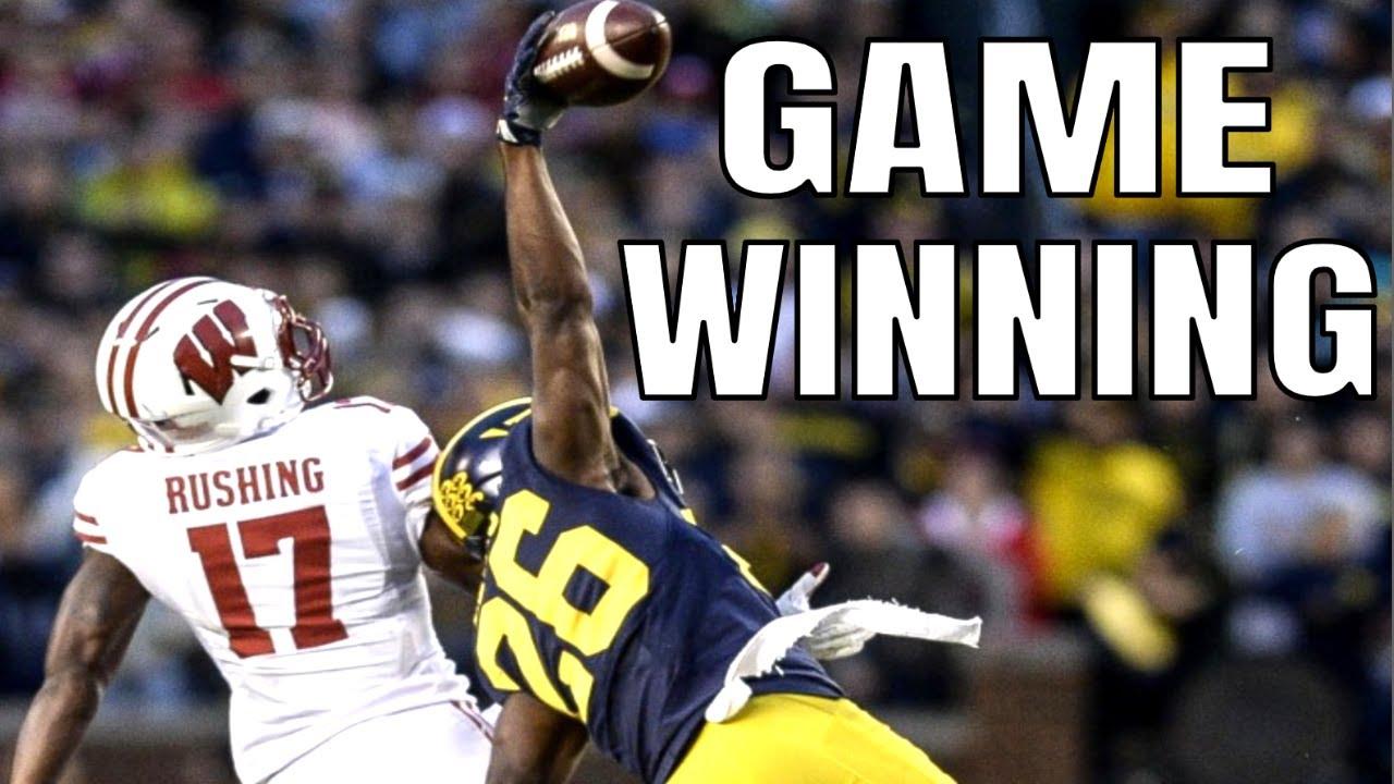 College Football Game Winning Interceptions   Part 1