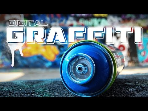 After Effects Tutorial - Create Digital Graffiti