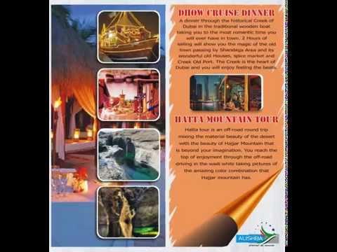 Alishba Travel & Tourism Brochure
