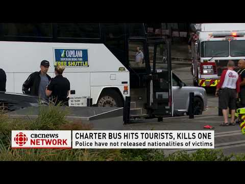 CBC News Network: Bus Crash at Canada Place leaves one dead