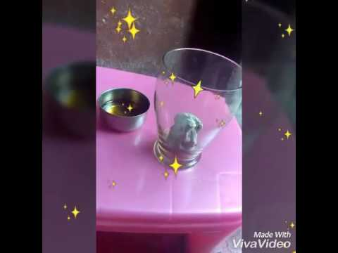 Simple Floating Water Candle.