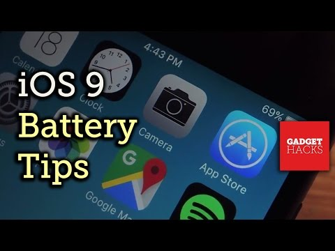 iOS 9 Battery-Saving Tips for iPad, iPhone, & iPod touch [How-To]