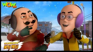 Cartoons | New Episodes Of Motu Patlu | Weather Out Of Control | Wow Kidz